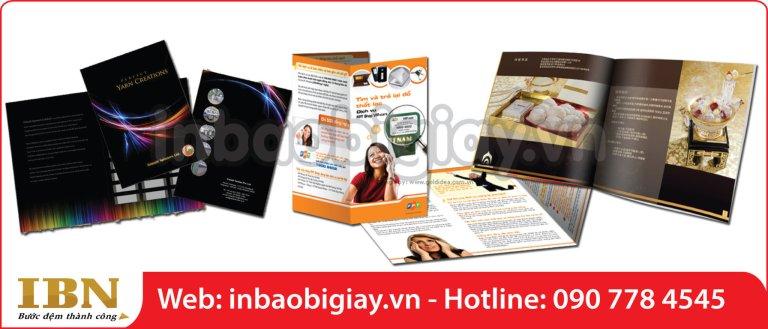 in brochure tphcm là công cụ marketing