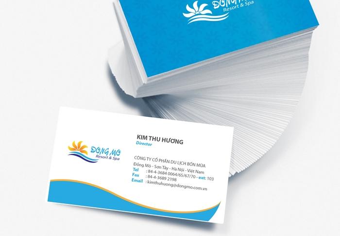 in name card để phục vụ việc kinh doanh