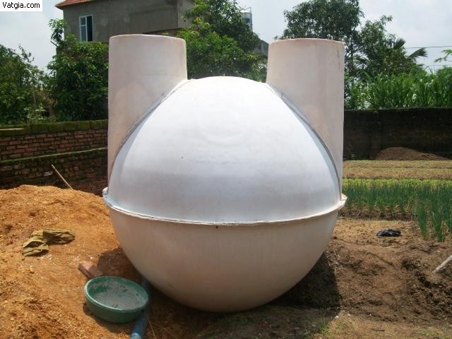 hầm biogas composite Việt Hàn