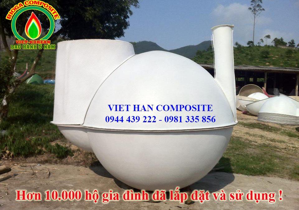 Nguyên lý hoạt động của hầm biogas composite
